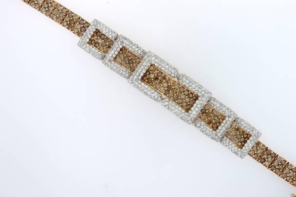 Las Chocolate Diamond Bracelet Z5903 Y292 84