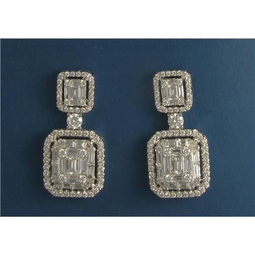 Diamond Earrings E0974