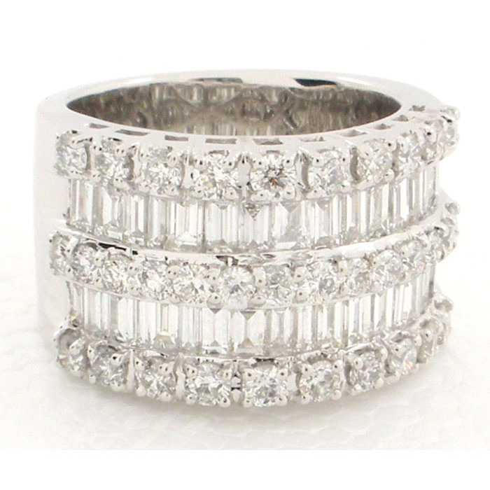 bands eternity diamond rosette products band pamela wide lauz jewellery
