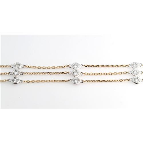 La s Diamond By Yard Bracelet z7141 y309 1 Diamond Bracelets
